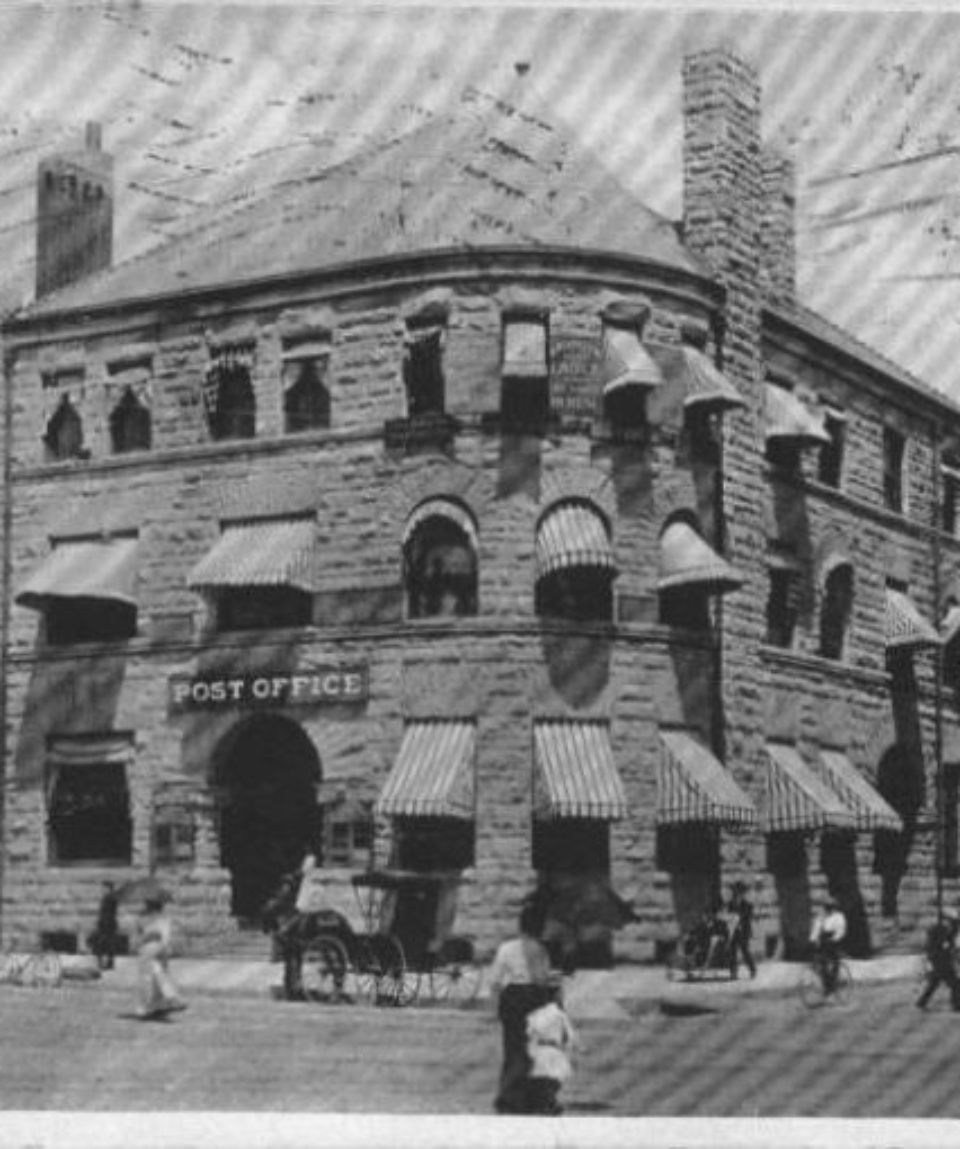 The Post Office and the Original Press Building